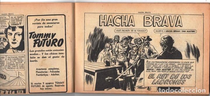 Tebeos: HACHA BRAVA # 12 TOMAJAUK MUCHNIK 1955 HOPALONG CASSIDY VIGILANTE VENADO OESTE RICK 66 P EXCELENTE - Foto 3 - 131960450