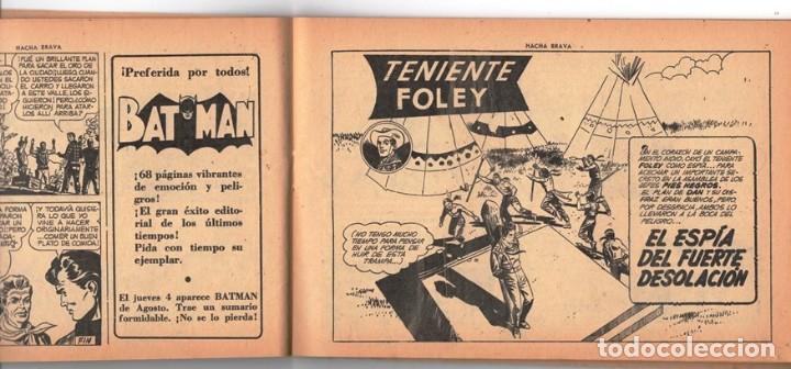 Tebeos: HACHA BRAVA # 12 TOMAJAUK MUCHNIK 1955 HOPALONG CASSIDY VIGILANTE VENADO OESTE RICK 66 P EXCELENTE - Foto 5 - 131960450