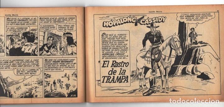 Tebeos: HACHA BRAVA # 12 TOMAJAUK MUCHNIK 1955 HOPALONG CASSIDY VIGILANTE VENADO OESTE RICK 66 P EXCELENTE - Foto 9 - 131960450
