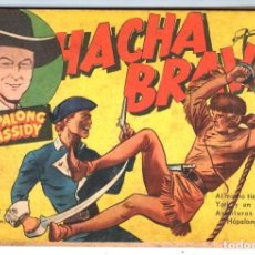 Tebeos: HACHA BRAVA # 13 TOMAJAUK MUCHNIK 1955 HOPALONG CASSIDY VIGILANTE VENADO OESTE RICK 66 P EXCELENTE. Lote 131960794