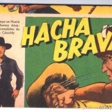 Tebeos: HACHA BRAVA # 14 TOMAJAUK MUCHNIK 1955 HOPALONG CASSIDY VIGILANTE VENADO OESTE RICK 66 P EXCELENTE. Lote 131960982