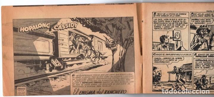 Tebeos: HACHA BRAVA # 14 TOMAJAUK MUCHNIK 1955 HOPALONG CASSIDY VIGILANTE VENADO OESTE RICK 66 P EXCELENTE - Foto 2 - 131960982