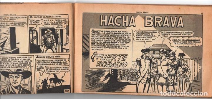 Tebeos: HACHA BRAVA # 14 TOMAJAUK MUCHNIK 1955 HOPALONG CASSIDY VIGILANTE VENADO OESTE RICK 66 P EXCELENTE - Foto 3 - 131960982