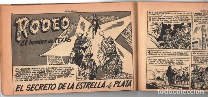 Tebeos: HACHA BRAVA # 14 TOMAJAUK MUCHNIK 1955 HOPALONG CASSIDY VIGILANTE VENADO OESTE RICK 66 P EXCELENTE - Foto 4 - 131960982