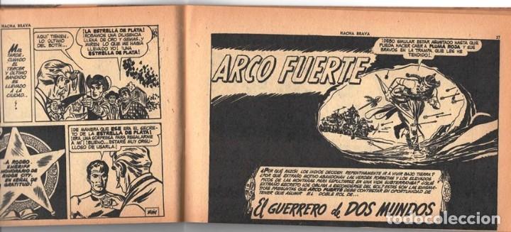 Tebeos: HACHA BRAVA # 14 TOMAJAUK MUCHNIK 1955 HOPALONG CASSIDY VIGILANTE VENADO OESTE RICK 66 P EXCELENTE - Foto 5 - 131960982