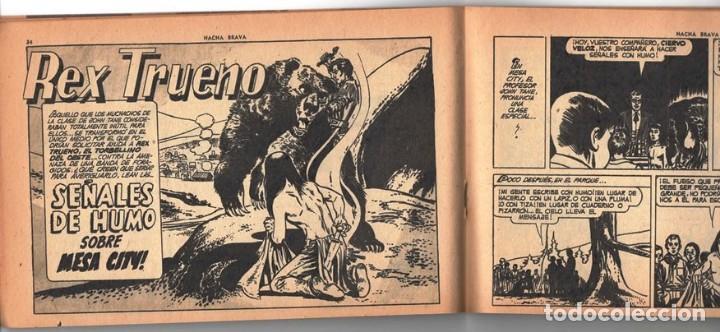 Tebeos: HACHA BRAVA # 14 TOMAJAUK MUCHNIK 1955 HOPALONG CASSIDY VIGILANTE VENADO OESTE RICK 66 P EXCELENTE - Foto 6 - 131960982