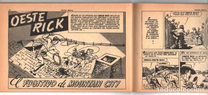 Tebeos: HACHA BRAVA # 14 TOMAJAUK MUCHNIK 1955 HOPALONG CASSIDY VIGILANTE VENADO OESTE RICK 66 P EXCELENTE - Foto 8 - 131960982