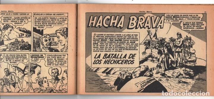 Tebeos: HACHA BRAVA # 14 TOMAJAUK MUCHNIK 1955 HOPALONG CASSIDY VIGILANTE VENADO OESTE RICK 66 P EXCELENTE - Foto 9 - 131960982