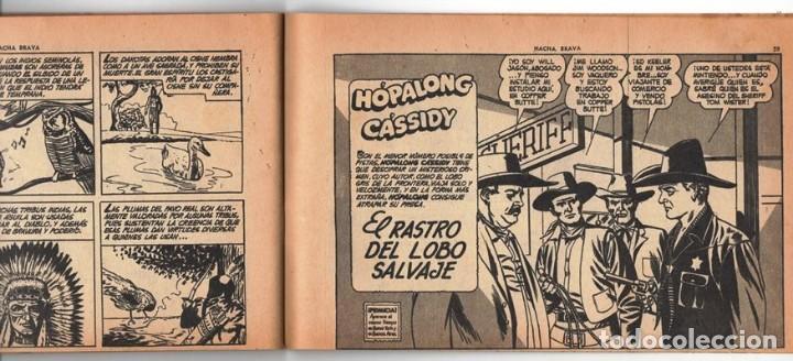 Tebeos: HACHA BRAVA # 14 TOMAJAUK MUCHNIK 1955 HOPALONG CASSIDY VIGILANTE VENADO OESTE RICK 66 P EXCELENTE - Foto 10 - 131960982