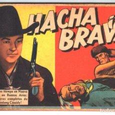 Tebeos: HACHA BRAVA # 15 TOMAJAUK MUCHNIK 1955 HOPALONG CASSIDY VIGILANTE VENADO OESTE RICK 66 P EXCELENTE. Lote 131992358