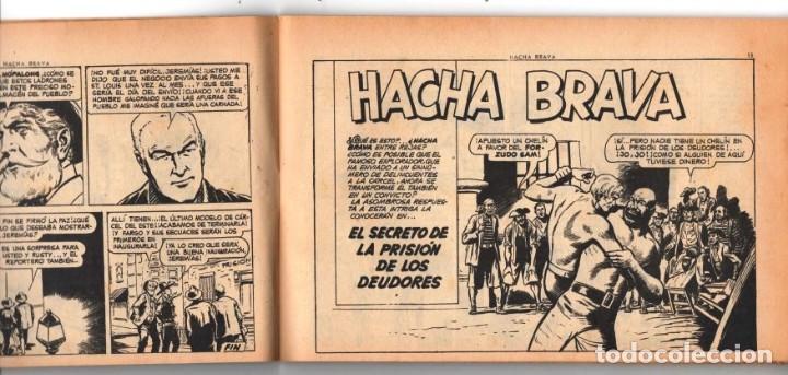 Tebeos: HACHA BRAVA # 16 TOMAJAUK MUCHNIK 1955 HOPALONG CASSIDY VIGILANTE VENADO OESTE RICK 66 P EXCELENTE - Foto 3 - 131994442