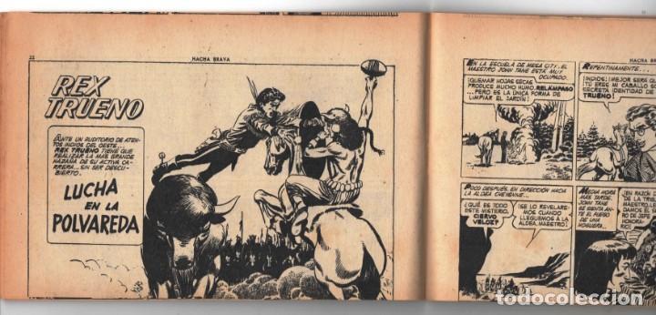 Tebeos: HACHA BRAVA # 16 TOMAJAUK MUCHNIK 1955 HOPALONG CASSIDY VIGILANTE VENADO OESTE RICK 66 P EXCELENTE - Foto 5 - 131994442