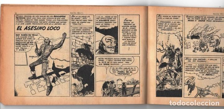 Tebeos: HACHA BRAVA # 16 TOMAJAUK MUCHNIK 1955 HOPALONG CASSIDY VIGILANTE VENADO OESTE RICK 66 P EXCELENTE - Foto 7 - 131994442