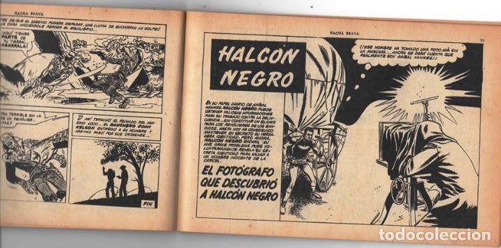 Tebeos: HACHA BRAVA # 16 TOMAJAUK MUCHNIK 1955 HOPALONG CASSIDY VIGILANTE VENADO OESTE RICK 66 P EXCELENTE - Foto 8 - 131994442