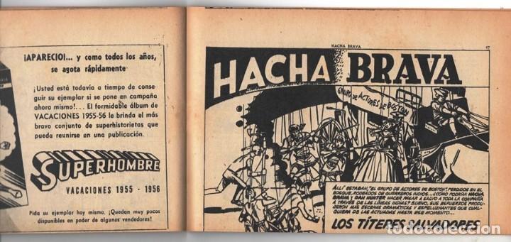 Tebeos: HACHA BRAVA # 16 TOMAJAUK MUCHNIK 1955 HOPALONG CASSIDY VIGILANTE VENADO OESTE RICK 66 P EXCELENTE - Foto 9 - 131994442