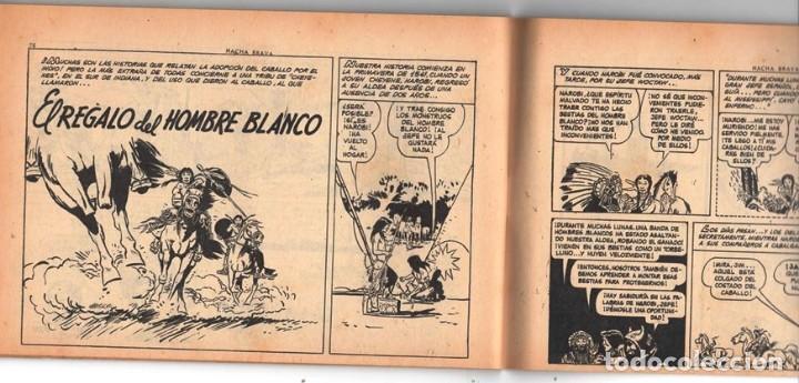 Tebeos: HACHA BRAVA # 16 TOMAJAUK MUCHNIK 1955 HOPALONG CASSIDY VIGILANTE VENADO OESTE RICK 66 P EXCELENTE - Foto 10 - 131994442