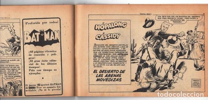 Tebeos: HACHA BRAVA # 16 TOMAJAUK MUCHNIK 1955 HOPALONG CASSIDY VIGILANTE VENADO OESTE RICK 66 P EXCELENTE - Foto 11 - 131994442