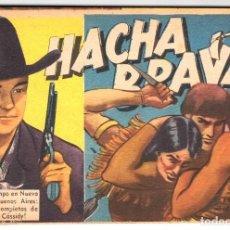 Tebeos: HACHA BRAVA # 18 TOMAJAUK MUCHNIK 1956 HOPALONG CASSIDY VIGILANTE VENADO OESTE RICK 66 P EXCELENTE. Lote 132045986