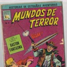Tebeos: MUNDOS DE TERROR 9 1968 COMIC LA PRENSA TIPO NOVARO. Lote 132118766
