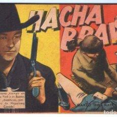 Tebeos: HACHA BRAVA # 19 TOMAJAUK MUCHNIK 1956 HOPALONG CASSIDY VIGILANTE VENADO OESTE RICK 48 P EXCELENTE. Lote 132120734