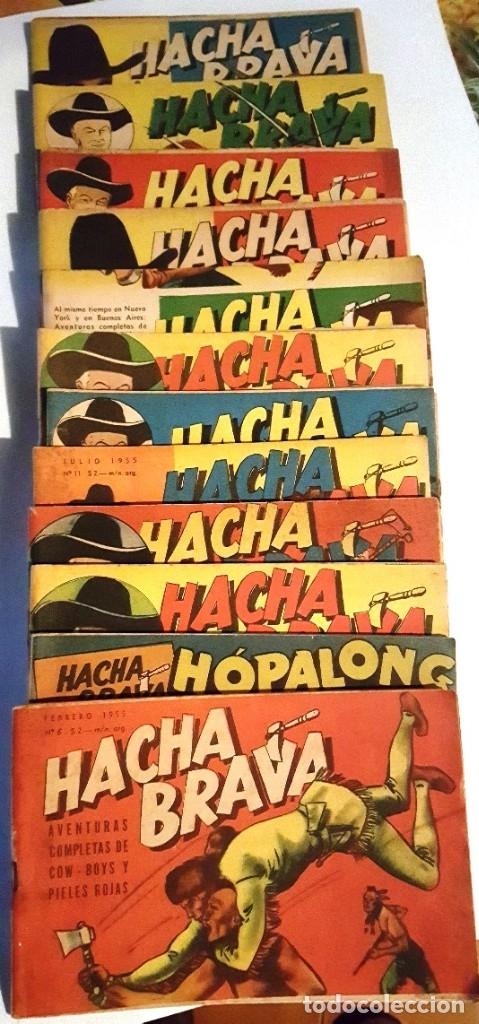 Tebeos: HACHA BRAVA # 12 TOMAJAUK MUCHNIK 1955 HOPALONG CASSIDY VIGILANTE VENADO OESTE RICK 66 P EXCELENTE - Foto 10 - 131960450