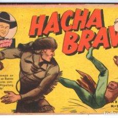 Tebeos: HACHA BRAVA # 20 TOMAJAUK MUCHNIK 1956 HOPALONG CASSIDY VIGILANTE VENADO OESTE RICK 48 P EXCELENTE. Lote 132122866