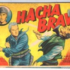 Tebeos: HACHA BRAVA # 21 TOMAJAUK MUCHNIK 1956 HOPALONG CASSIDY VIGILANTE GENERAL WASHINGTON 66 P EXCELENTE. Lote 132156078