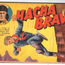 Tebeos: HACHA BRAVA # 23 TOMAJAUK Y EL ROBOT SELENITA MUCHNIK 1956 HOPALONG CASSIDY VIGILANTE 48 P EXCELENTE. Lote 132164586