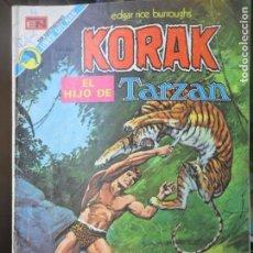 Tebeos: KORAK EL HIJO DE TARZAN Nº 16 - NOVARO. Lote 136667896