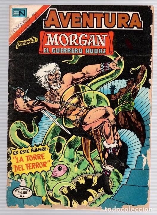AVENTURA. MORGAN EL GUERRERO AUDAZ. Nº 2-922. 22 DE SEPTIEMBRE DE 1979 (Tebeos y Comics - Novaro - Aventura)