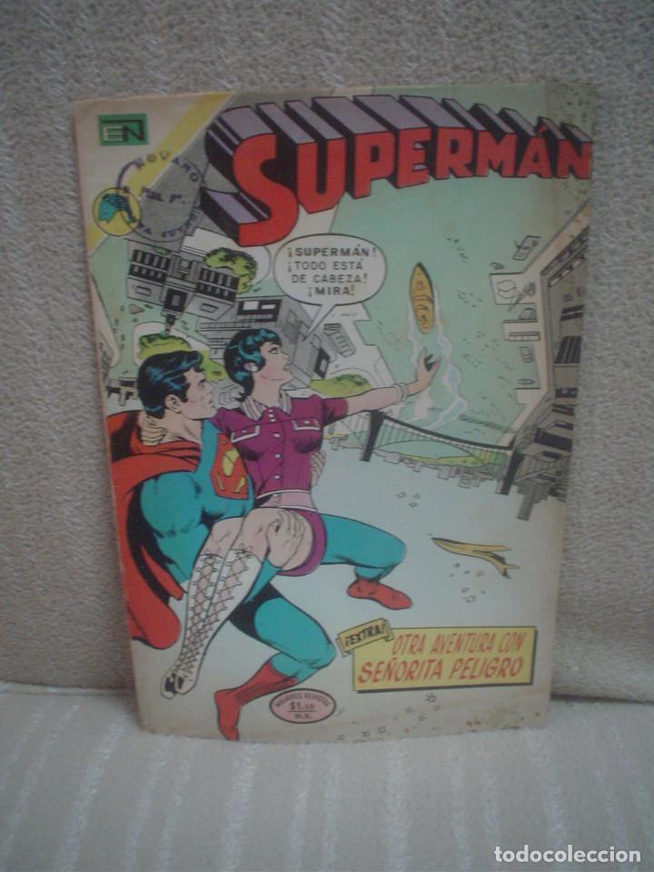 SUPERMAN Nº 895 - NOVARO (Tebeos y Comics - Novaro - Superman)