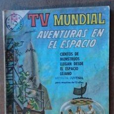 Tebeos: COMIC TV MUNDIAL AVENTURAS EN EL ESPACIO Nº77 1966. BUEN ESTADO. Lote 132392866