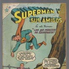 Tebeos: SUPERMÁN Y SUS AMIGOS 3: LOS 100 PEDAZOS DE KRYPTONITA, 1956, NOVARO, BUEN ESTADO. Lote 132422066