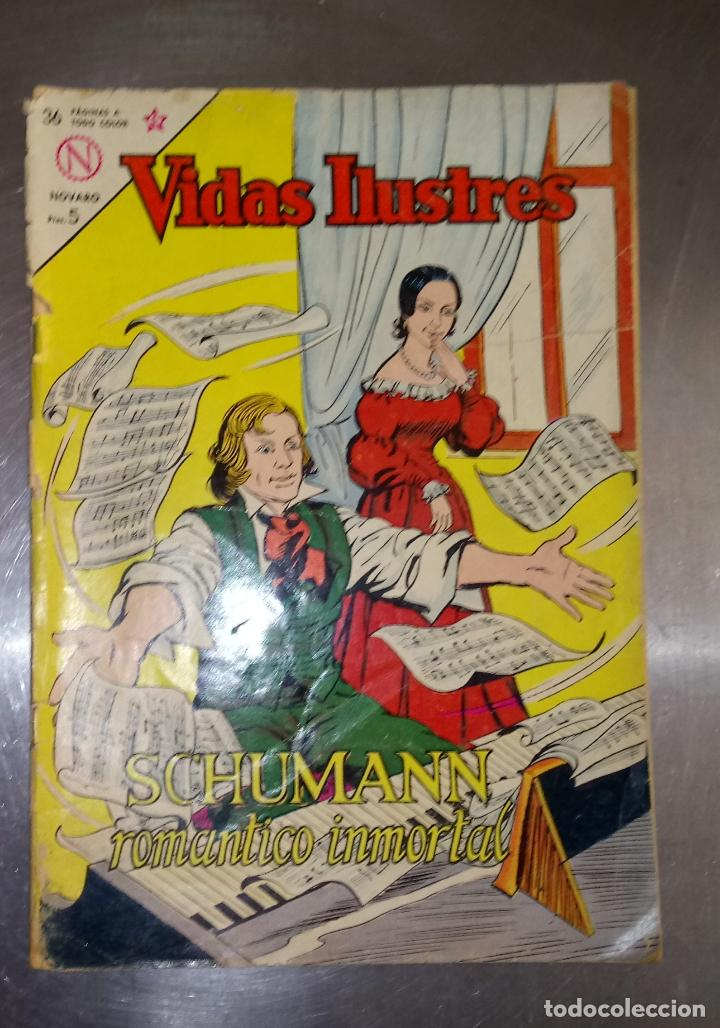 VIDAS ILUSTRES -Nº.96 - SCHUMANN (Tebeos y Comics - Novaro - Vidas ilustres)