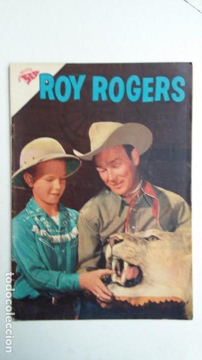 ROY ROGERS N° 103 - ORIGINAL EDITORIAL NOVARO (Tebeos y Comics - Novaro - Roy Roger)