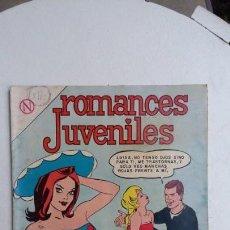 Tebeos: ROMANCES JUVENILES N° 12 - ORIGINAL EDITORIAL NOVARO. Lote 132715746