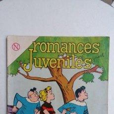 Tebeos: ROMANCES JUVENILES N° 9 - ORIGINAL EDITORIAL NOVARO. Lote 132715946
