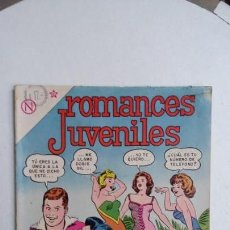 Tebeos: ROMANCES JUVENILES N° 8 - ORIGINAL EDITORIAL NOVARO. Lote 132716114