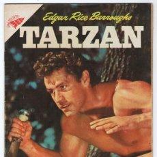 Tebeos: TARZAN # 75 NOVARO 1957 GORDON SCOTT EN TAPA LA HERMANDAD DE LA LANZA EXCELENTE ESTADO. Lote 132775138