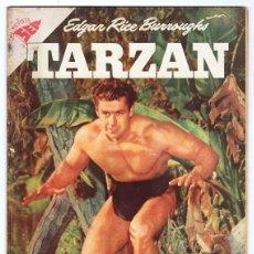 Tebeos: TARZAN # 81 NOVARO 1958 GORDON SCOTT EN TAPA LA HERMANDAD DE LA LANZA EXCELENTE ESTADO. Lote 132775274
