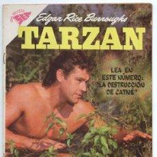 Tebeos: TARZAN # 85 NOVARO 1958 GORDON SCOTT EN TAPA LA HERMANDAD DE LA LANZA EXCELENTE ESTADO. Lote 132775302