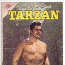 Tebeos: TARZAN # 95 NOVARO 1959 GORDON SCOTT EN TAPA LA HERMANDAD DE LA LANZA MUY BUEN ESTADO. Lote 132775458
