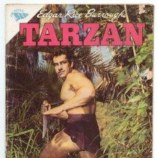 Tebeos: TARZAN # 96 NOVARO 1959 GORDON SCOTT EN TAPA LOS BRAVIOS BLANCOS DE VARI MUY BUEN ESTADO. Lote 132775478