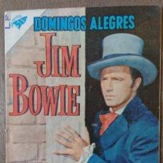 Tebeos: COMIC DOMINGOS ALEGRES JIM BOWIE 1960. MUY BUEN ESTADO. Lote 132800774