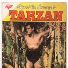 Tebeos: TARZAN # 98 NOVARO 1960 GORDON SCOTT EN TAPA LOS PRISIONEROS DEL VALLE CATARATA EXCELENTE ESTADO. Lote 132803690