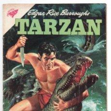 Tebeos: TARZAN # 101 NOVARO 1960 EL BUFALO BLANCO LAS DOS CIGUEÑAS LA HERMANDAD DE LA LANZA EXCELENTE ESTADO. Lote 132804094