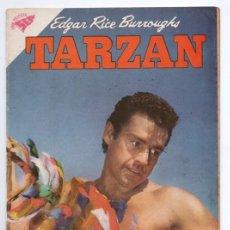 Tebeos: TARZAN # 102 NOVARO 1960 GORDON SCOTT EN TAPA EL TESORO DE OPAR EXCELENTE ESTADO. Lote 132804306