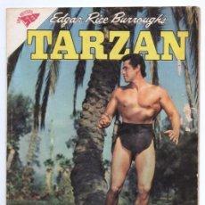 Tebeos: TARZAN # 110 NOVARO 1961 GORDON SCOTT EN TAPA LOS HOMBRES DE ALUR MUY BUEN ESTADO. Lote 132805586