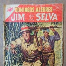 Tebeos: COMIC DOMINGOS ALEGRES JIM DE LA SELV.1958. Lote 132806186