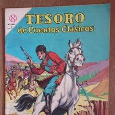 Tebeos: COMIC TESORO DE CUENTOS CLÁSICOS EL CORREO DEL ZAR 1964 MUY BUEN ESTADO. Lote 132931518